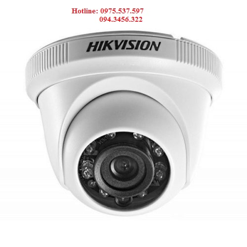Camera HD-TVI bán cầu 2MP DS-2CE56D0T-IR (C)