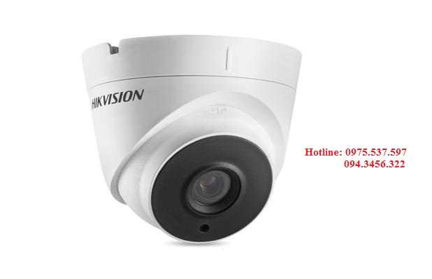 Camera HD-TVI bán cầu 2MP DS-2CE56D0T-IT3 (C)